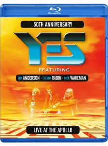 Yes - 50th anniversary live at the apollo - blu-ray