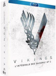 Vikings - intégrale des saisons 1 + 2 - blu-ray