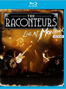 The raconteurs - live at montreux jazz festival 2008 - blu-ray