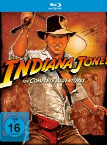 Indiana jones - the complete adventures [blu-ray] [import allemand]