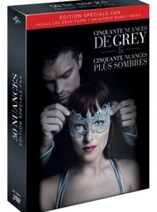 50 nuances - coffret : cinquante nuances de grey + cinquante nuances plus sombres - coffret