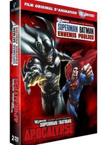 Superman/batman : ennemis publics + apocalypse - pack