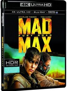 Mad max : fury road - 4k ultra hd + blu-ray + digital ultraviolet