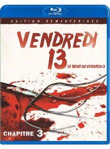 Vendredi 13 - chapitre 3 : le tueur du vendredi ii - édition remasterisée - blu-ray
