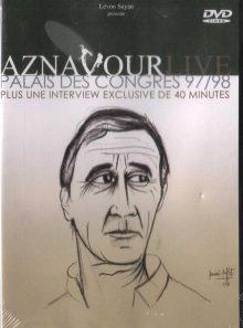 Aznavour live - palais des congrès 1997/98