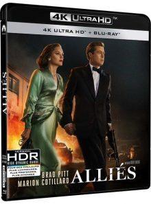Alliés - 4k ultra hd + blu-ray
