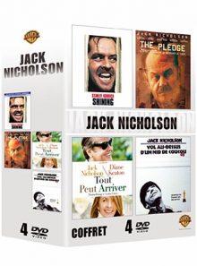 Jack nicholson - coffret - shining + the pledge + tout peut arriver (something's gotta give) + vol au-dessus d'un nid de coucou
