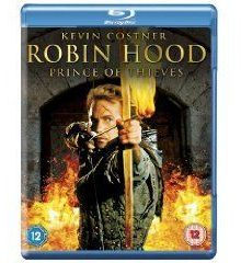 Robin hood : prince of the thieves - blu ray - import uk
