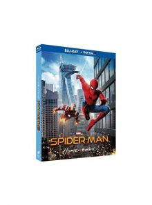 Spider-man : homecoming - blu-ray + digital ultraviolet + comic book