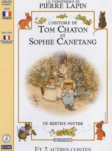 Beatrix potter - l'histoire de tom chaton et sophie canétang