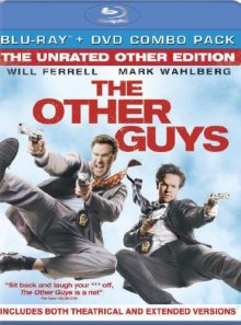 The other guys (two disc unrated other edition blu ray/dvd combo)