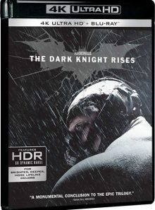 Batman - the dark knight rises - 4k ultra hd + blu-ray