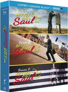 Better call saul - saisons 1 à 3 - blu-ray + copie digitale