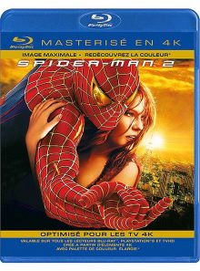 Spider-man 2 - blu-ray masterisé en 4k
