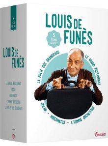 Louis de funès - 5 films cultes : le grand restaurant + oscar + hibernatus + l'homme orchestre + la folie des grandeurs