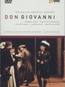 Mozart - don giovanni / allen, furlanetto, vaness, rost, james, dorn, sandve, holle, conlon, cologne opera