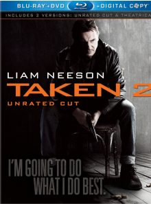 Taken 2 (unrated cut) [blu ray]