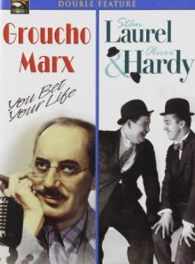 Groucho marx & laurel & hardy