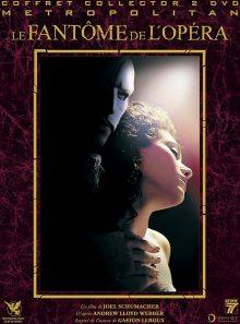 Le fantôme de l'opéra - édition collector