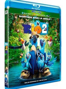 Rio 2 - combo blu-ray + dvd