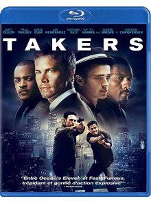 Takers - blu-ray