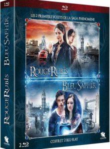 Rouge rubis + bleu saphir - blu-ray