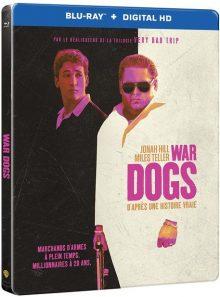 War dogs - blu-ray + copie digitale - édition boîtier steelbook