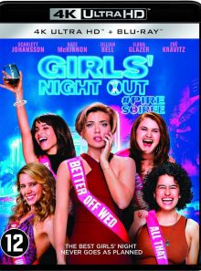 Girls night out - pire soiree : edition 4k uhd + blu-ray