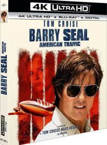 Barry seal : american traffic - 4k ultra hd + blu-ray + digital hd