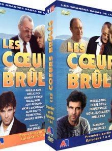 Les coeurs brûlés - intégrale - pack 2 coffrets (4 dvd)