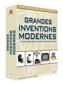 Grandes inventions modernes - coffret 5 dvd