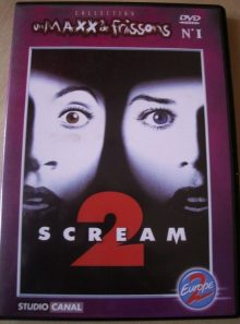 Scream 2 - collection un maxx de frissons