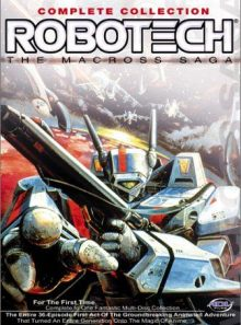 Robotech the macross saga complete collection