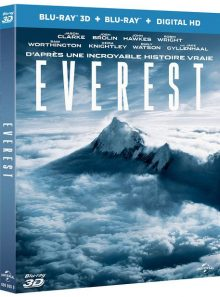 Everest - blu-ray 3d + blu-ray + digital hd