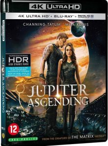 Jupiter : le destin de l'univers - 4k ultra hd + blu-ray + digital ultraviolet