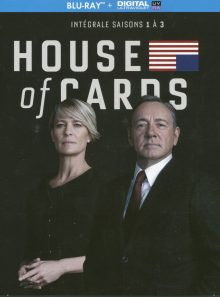 House of cards saisons 1 / 2 / 3