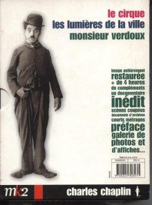 Charlie chaplin - coffret 2 - le cirque + les lumières de la ville + monsieur verdoux