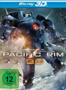 Pacific rim (blu-ray 3d, 3 discs)