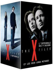 The x-files - l'intégrale des 9 saisons + les 2 films - pack