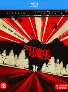 Strike back - saison 4 blu-ray disc - edition benelux