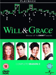 Will and grace series 2 [dvd]