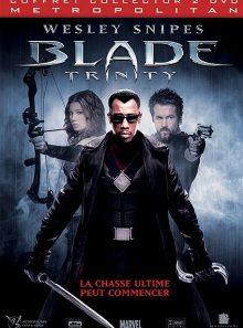 Blade trinity - édition collector