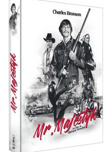 Mr. majestyk - édition collector blu-ray + dvd + livret de 86 pages