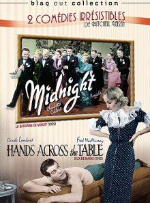 2 comédies irrésistibles de mitchell leisen : la baronne de minuit + jeux de mains - édition collector