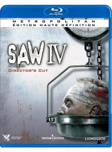 Saw iv - director's cut - blu-ray