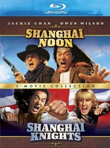 Shanghai noon / shanghai knights (2 movie collection) [blu ray]