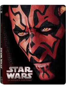 Star wars - episode i : la menace fantôme - édition limitée boîtier steelbook - blu-ray