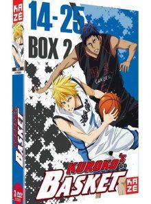 Kuroko's basket - saison 1, box 2/2