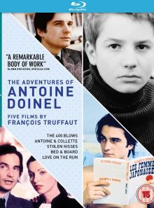 Coffret blu-ray 5 films : the adventures of antoine doinel (francois truffaut)