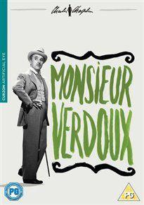 Monsieur verdoux - charlie chaplin dvd
